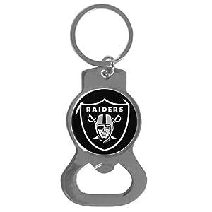 NFL Siskiyou Sports Fan Shop Las Vegas Raiders Bottle Opener Key Chain One Size Team Color by Siskiyou Gifts Co, Inc.