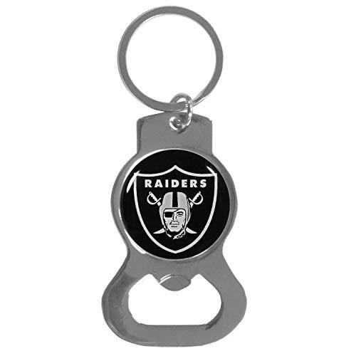 NFL Siskiyou Sports Fan Shop Las Vegas Raiders Bottle Opener Key Chain One Size Team Color
