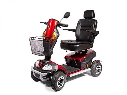 Golden Technologies - Patriot - Heavy Duty Scooter - 4-Wheel - Red