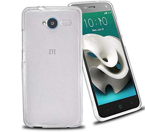 REY 3X Funda Carcasa Gel Transparente para ZTE Blade L3, Ultra Fina 0,33mm, Silicona TPU de Alta Resistencia y Flexibilidad