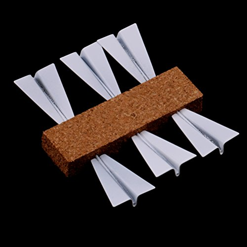 Yiphates 18Pcs Paper Airplane Pushpin Novelty Flying Pushing Paper Airplane Pushpins Office Gadget Metal Pins & Tacks for Cork Board/Bulletin Board