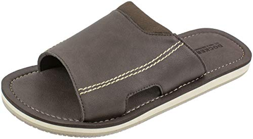 Dockers Men's Sandal, Slide Sandal with Arch Support,Premium and Classic Comfort with PU Upper, Men's US Size 8 to 13