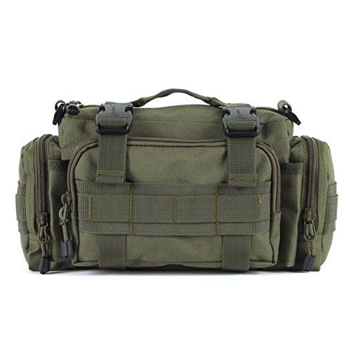 Sincere® Forfait / Sacs à dos / ventilateurs / Armée Ultraléger portables de camping super-homme sac de patrouille / sac à bandoulière Équipement pour l'extérieur-ArmyGreen 20L