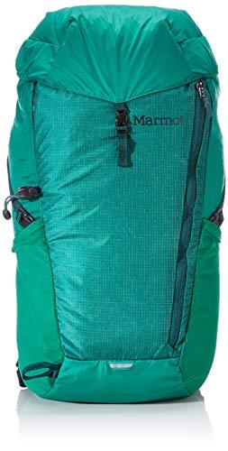 Marmot Ultraleichter Wanderrucksack, Daypack, Faltbar, 20 L Fassungsvermögen, Wiegt Nur 350g Kompressor Plus, Verde/Botanical Garden, 20 l, 38980
