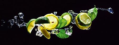Eurographics Glasbild, DG-DT20083 Deco Glass Fresh Lime Diving, 30 x 80 cm