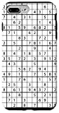 iPhone 7 Plus/8 Plus Black White Puzzle Sudoku Lover Theme Sudoku Case