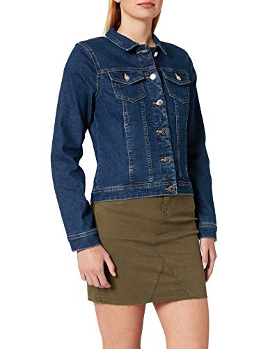 ONLY Female Jeansjacke Einfarbig XLMedium Blue Denim