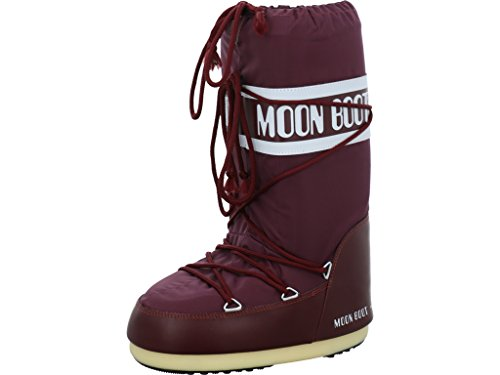 Moon-boot Nylon, Zapatillas de Deporte Exterior Unisex Adulto, Morado (Bourgogne 074), 39/41 EU