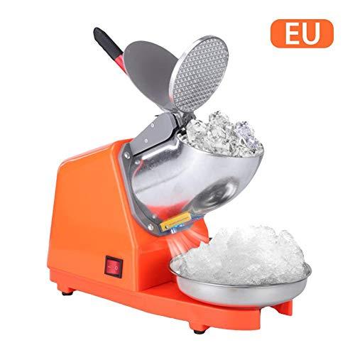 Eiscrusher Elektrisch Ice Crusher Smoothie Maker Edelstahl Eiszerkleinerer Home Bar Eiswürfelzerkleinerer Für Cocktails & Smoothies