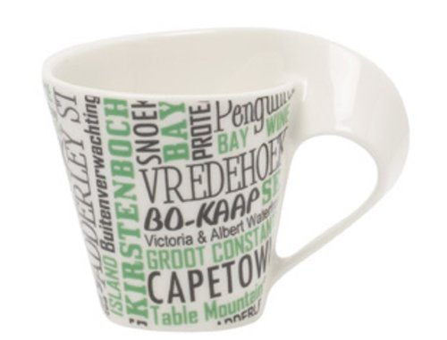 Villeroy & Boch 0,08 Liter New Wave Cities of the World New York Espresso Tasse Kapstadt weiß