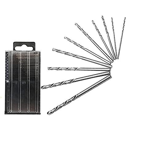 20 PCS Mini Micro Bits HSS Twist Drill Bit Set DIY Kit Woodworking/Home Repair/Plastic/Jewelry/Circuit Case (0.3-1.6mm)