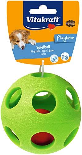 Vitakraft Actionball Jouet Balle Fun Stimulante Très Résistante/Texture Douce pour Chien