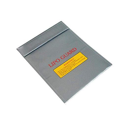 perfecthome Bolsa De Documentos Ignífuga Bolsa De Seguridad De La Batería De Litio, Impermeable, Segura, A Prueba De Fuego, para Objetos De Valor, Dinero, Joyas, Pasaporte, Documentos (18 X 23 Polite