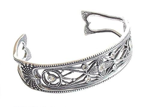 Art Deco Damen Armspange 925 Silber Zwanziger Jahre