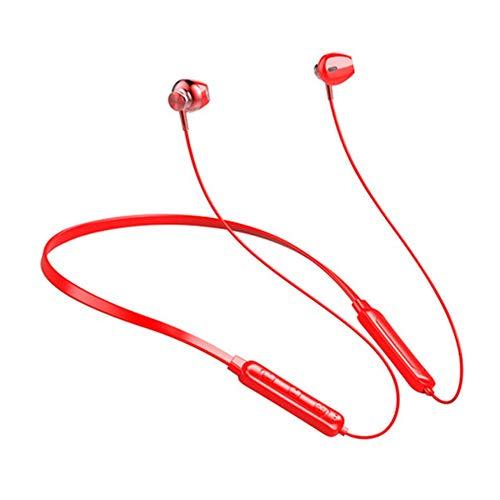 PandaG Bluetooth Auriculares inalámbricos, Auriculares magnética micrófono Incorporado vincha Auricular estéreo portátil Adecuado for la práctica del Deporte en ejecución y de la Aptitud