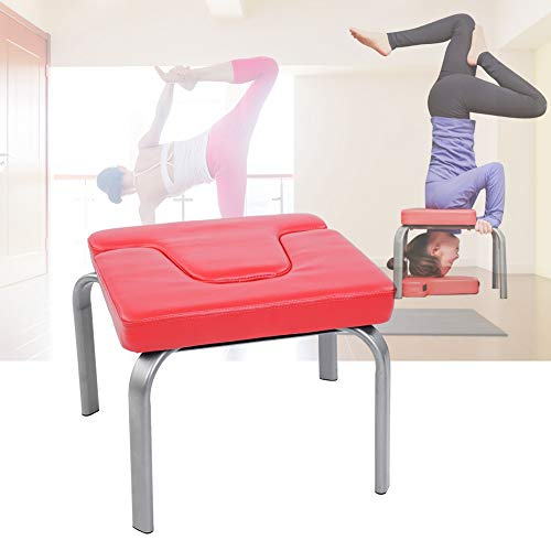 Great Features Of Qiilu Yoga Exercise Chair, Yoga Chair Headstand Inversion Bench Headstander Fitnes...