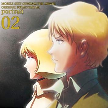 MOBILE SUIT GUNDAM THE ORIGIN Original Motion Picture Soundtrack 「portrait 02」