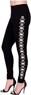 Women's XO Willie G Skull/B&S Embellished Leggings, Black