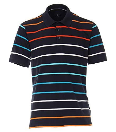 Casa Moda - Herren Poloshirt (903441600), Größe:4XL, Farbe:Orange (469)