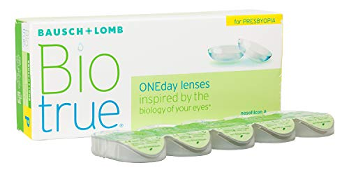 BAUSCH + LOMB - Biotrue® ONEday For PRESBYOPIA - Lentes de contacto de reemplazo diario para...