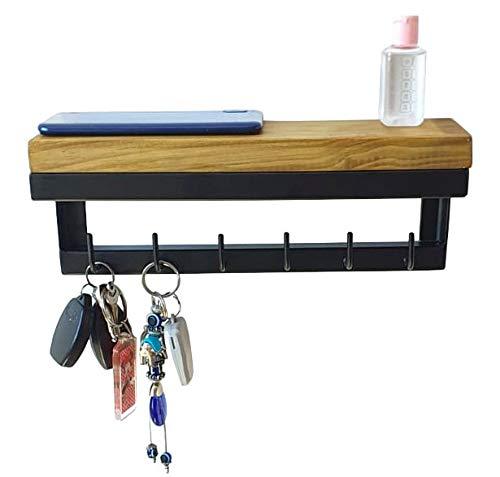 Porta Chaves e Organizador Strassis Design SD-5006 Cor: Preto
