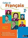 Cahier de Français 1re