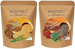 Hunter's Gourmet Organic White Quinoa Seeds Tricolour Quinoa Seeds, 300 gm, Pack of 2