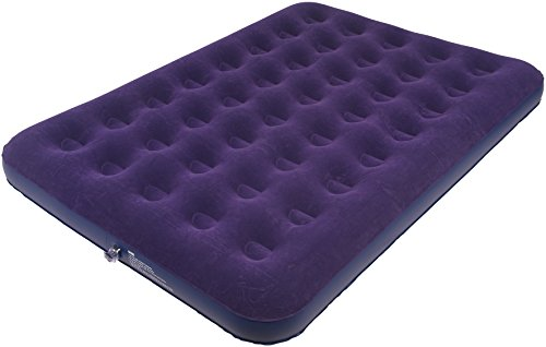 Royal 300171 Double Flock Air Bed-Purple