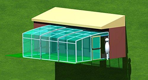 ClearYup Pantalla de aluminio para piscinas, puertas de porche, retráctiles, correderas, personalizable, para piscina, pared: Amazon.es: Jardín