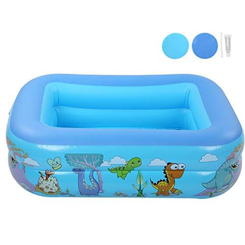 Piscinas para Nadar al Aire Libre Fácil de almacenar Buena estanqueidad al Aire Bañera Inflable para niños Estable y Duradera Piscina Inflable para Interiores y Exteriores