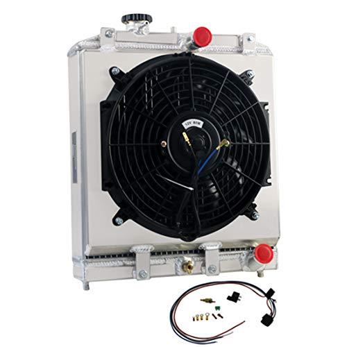 honda 3 row aluminum radiator - 8