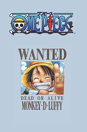 One Piece: Journal Luffy anime Notebook