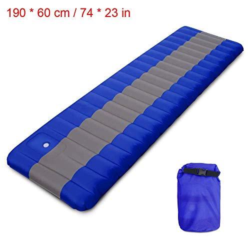 opblaasbaar slaapmatje voor kamperen, Air Matras Cushion Sofa Bed Outdoor Beach Mattress met kussen