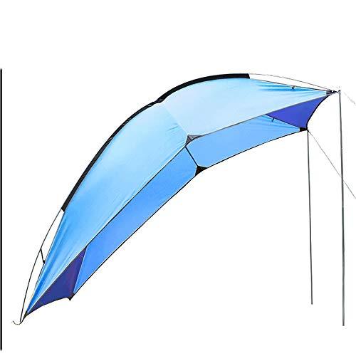 Ys-s Personalización de la tienda Al aire libre cuenta portátil trasera del vehículo for acampar auto-conducción recorrido barbacoa de varias personas a prueba de lluvia sombrilla de playa pérgola dos