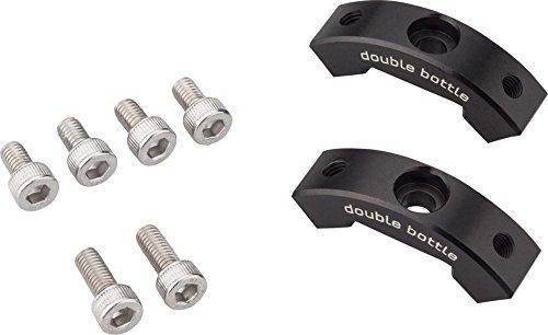 Wolf Tooth Components B-RAD ダブルボトルケージアダプター ブラック ワンサイズ