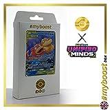 Slowpoke & Psyduck-GX (Ramoloss et Psykokwak-GX ) 35/236 - #myboost X Sun & Moon 11 Unified Minds - Coffret de 10 Cartes Pokémon Aglaises