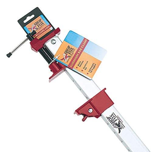 Shop Fox D2466 Aluminum Bar Clamp, 36-Inch