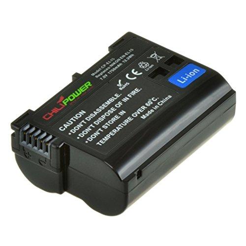 Orginal ChiliPower EN-EL15 Akku für Nikon 1 V1, DSLR D600, D610, D800, D800E, D7000, D7100, D7200