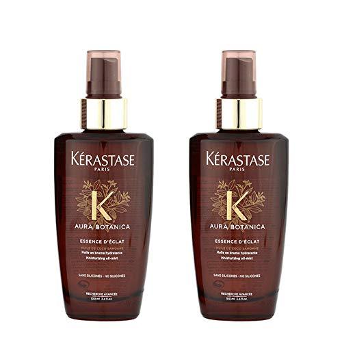 Kerastase Aura Botanica Essence D'Eclat 100ml pour cheveux ternes et dévitalisés kit 2 pcs