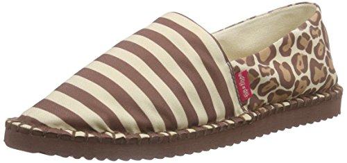 flip*flop Damen flippadrilla stripes leo Espadrilles, Mehrfarbig (806), 40 EU