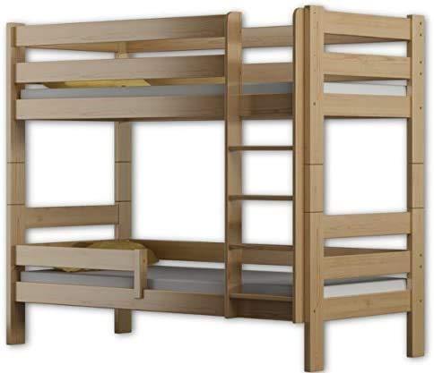 Hergestellt von der Qualität Kiefernholzetagenbettrahmen zwei Schläfer 180x80cm,Pine