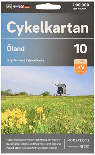 Cykelkartan Blad 10 Öland : Skala 1:90 000