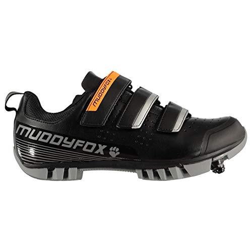 Muddyfox MTB100 - Zapatillas de ciclismo para niños, color, talla 38/38.5 EU