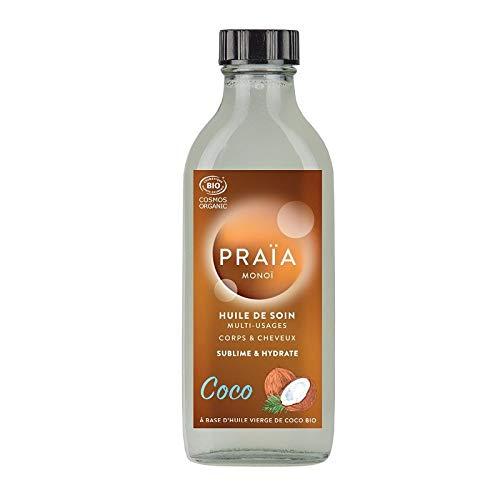 PRAÏA, Monoï, Huile de soin multi-usages, coco, 100 ml