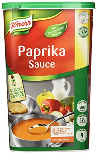 Knorr Paprika Sauce (pikant- fruchtiger Paprikageschmack) 1er Pack (1 x 1kg)