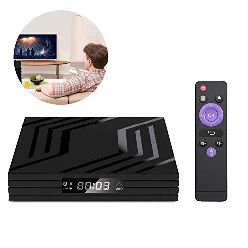 Heatile TV Box Android Quad-Core CPU 2GB RAM 16GB ROM Ultra HD 6K Resolution 2.4GHz WiFi 100M LAN 2USB2.0 Smart Media Player