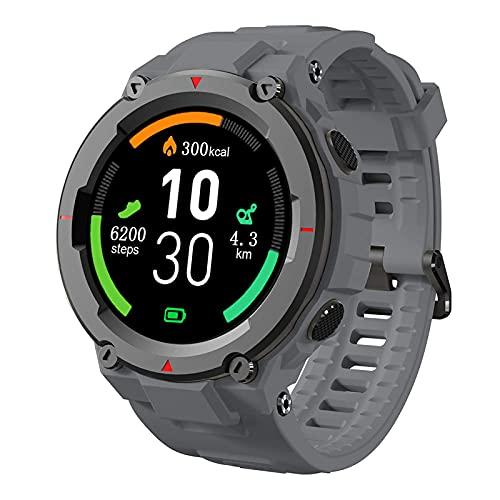AllCall Model3 Reloj Inteligente Prueba De Agua para Hombres, Monitorización del Sueño con Frecuencia Cardíaca, Pantalla Táctil Color HD De 1,28 Pulgadas Smartwatch Batería 280Mah Modo Multideportiv