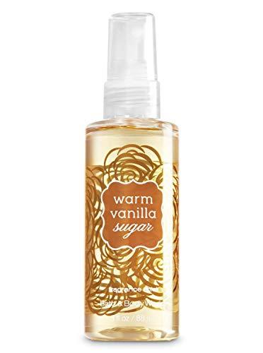 Brume parfumée pour le corps Warm Vanilla Sugar Bath & Body Works - Format voyage