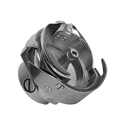 Caja de Bobina de Máquina de Coser Bobina de Bobina de Metal de Acero Inoxidable Bobinas Incluidas Caja de Bobina de Cama Adecuado para Accesorios Eléctricos de Costura Industrial