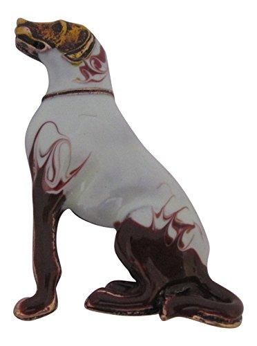Broche Boutique Impresionante Esmalte Labrador Broche Pistola Perro
